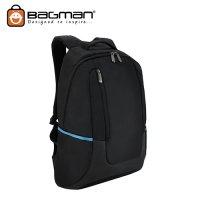 Bagman Laptop Backpack S02-003LAP-02 Navy Blue