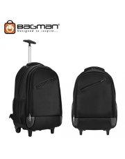 Bagman Laptop Backpack S02-093CON-01 Black
