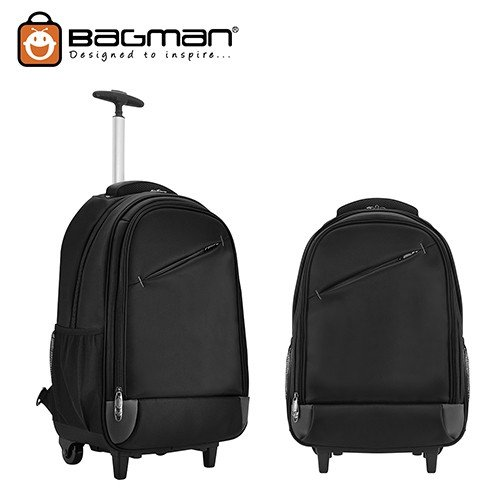 Bagman Laptop Backpack S02-093CON-01 Black