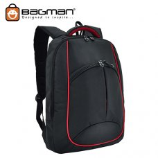 Bagman Laptop Backpack S02-264LAP-01 Black