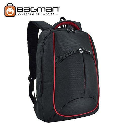 Bagman Laptop Backpack S02-264LAP-01 Black