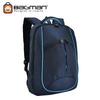 Bagman Laptop Backpack S02-264LAP-02 Navy Blue