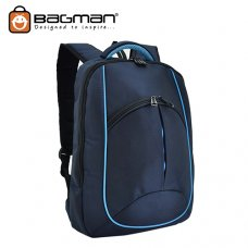Bagman Laptop Backpack S02-264LAP-02 Navy Blue