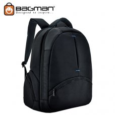 Bagman Laptop Backpack S02-286LAP-01 Black