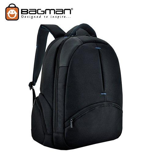 Bagman Laptop Backpack S02-286LAP-01 Black