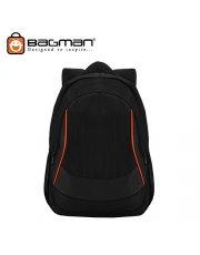 Bagman Laptop Backpack S02-309LAP-01 Black