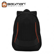 Bagman Laptop Backpack S02-309LAP-01 Black