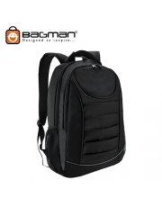 Bagman Laptop Backpack S02-310LAP-01 Black
