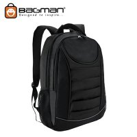 Bagman Laptop Backpack S02-310LAP-01 Black