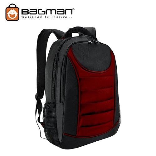 Bagman Laptop Backpack S02-310LAP-09 Maroon