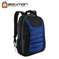 Bagman Laptop Backpack S02-310LAP-15 Royal Blue