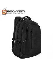 Bagman Laptop Backpack S02-338LAP-01 Black