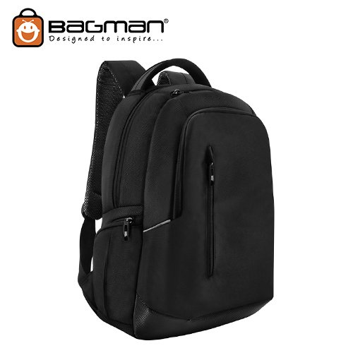 Bagman Laptop Backpack S02-338LAP-01 Black