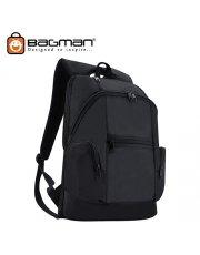 Bagman Laptop Backpack S02-342LAP-01 Black