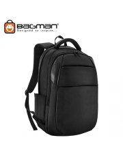 Bagman Laptop Backpack S02-347LAP-01 Black