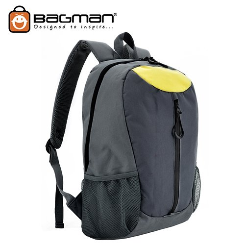 Bagman Day Pack S02-388STD-01 Black Backpack