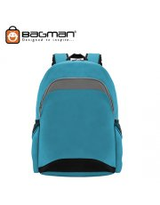 Bagman Day Pack S02-390STD-13 Turquoise Backpack