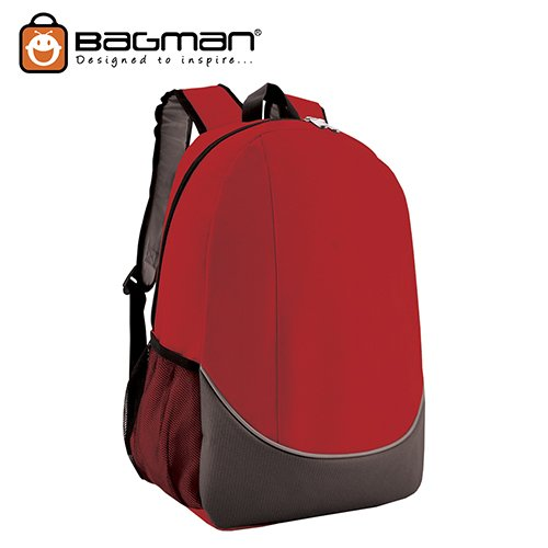 Bagman Day Pack S02-448STD-03 Red Backpack