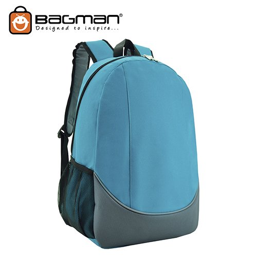 Bagman Day Pack S02-448STD-13 Turquoise Backpack