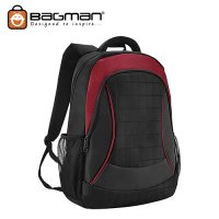 Bagman Laptop Backpack S02-462LAP-03 Red