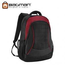 Bagman Laptop Backpack S02-462LAP-03 Red