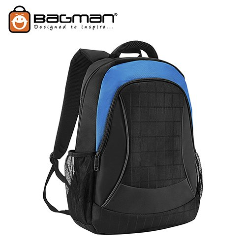 Bagman Laptop Backpack S02-462LAP-12 Sky Blue
