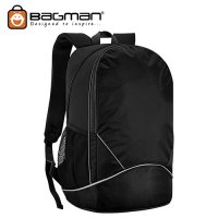 Bagman Laptop Backpack S02-474LAP-02 Navy Blue