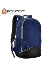Bagman Laptop Backpack S02-474LAP-01 Black