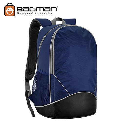 Bagman Laptop Backpack S02-474LAP-01 Black