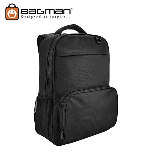 Bagman Laptop Backpack S02-522LAP-01 Black