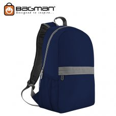 Bagman Day Pack S02-560STD-02 Navy Blue Backpack