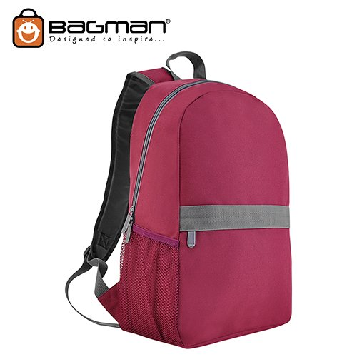 Bagman Day Pack S02-560STD-03 Red Backpack