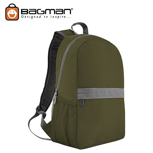 Bagman Day Pack S02-560STD-06 Dark Green Backpack