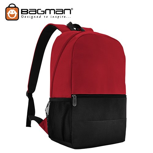 Bagman Day Pack S02-567STD-03 Red Backpack