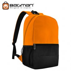 Bagman Day Pack S02-567STD-05 Orange Backpack