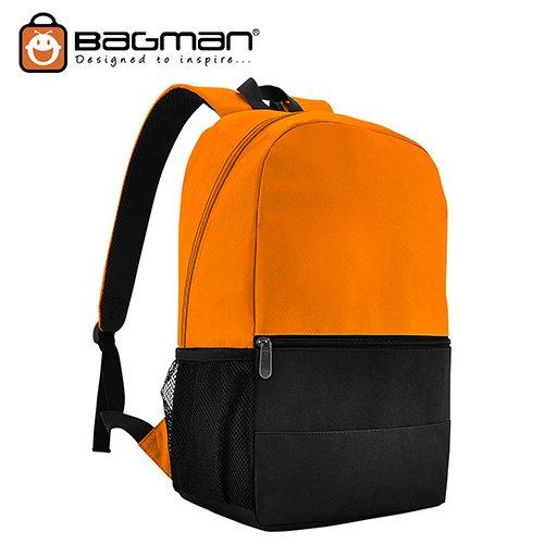 Bagman Day Pack S02-567STD-05 Orange Backpack
