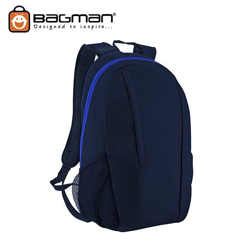 Bagman Day Pack S02-588STD-02 Navy Blue Backpack