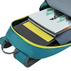 Bagman Day Pack S02-588STD-13 Turquoise Backpack