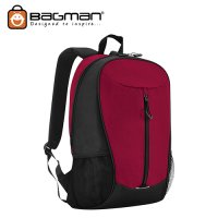 Bagman Day Pack S02-598STD-03 Red Backpack