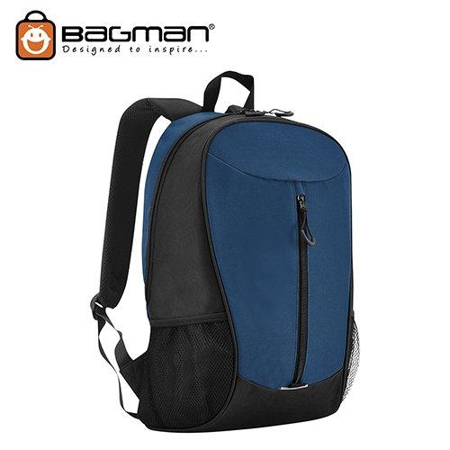 Bagman Day Pack S02-598STD-20 Blue Backpack