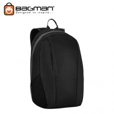 Bagman Laptop Backpack S02-599LAP-01 Black