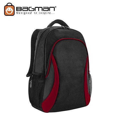 Bagman Laptop Backpack S02-678LAP-03 Red