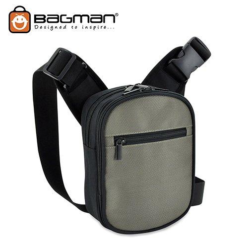 Bagman Sling Bag Cum Waist Pouch S03-013CON-07 Grey