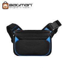 Bagman Waist Pouch Cum Sling Bag S03-024CON-01 Black