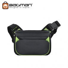 Bagman Waist Pouch Cum Sling Bag S03-024CON-07 Grey