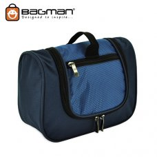 Bagman Toiletry Pouch S04-107TOI-02 Navy Blue