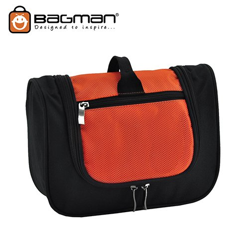 Bagman Toiletry Pouch S04-107TOI-05 Orange