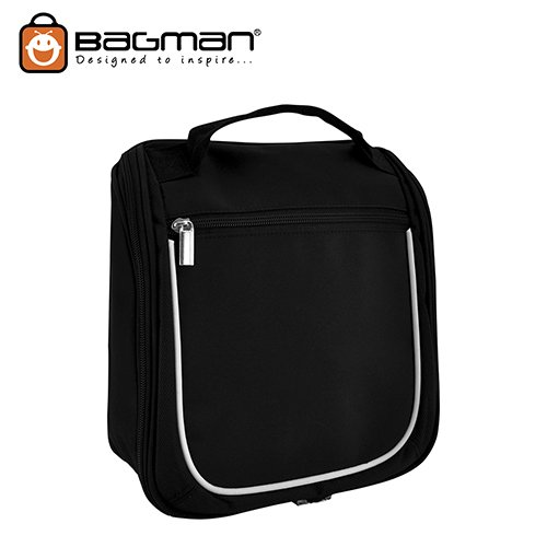 Bagman Toiletry Pouch S04-137TOI-01 Black