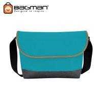 Bagman Netbook Messenger Bag S04-218SLB-12 Sky Blue