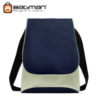 Bagman Netbook Messenger Bag S04-227SLB-02 Navy Blue